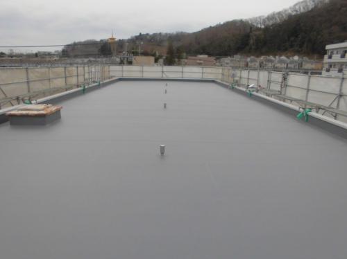 塩化ビニル樹脂系シート防水